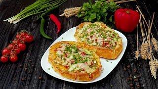 Как приготовить турецкую пиццу - Рецепты от Со Вкусом