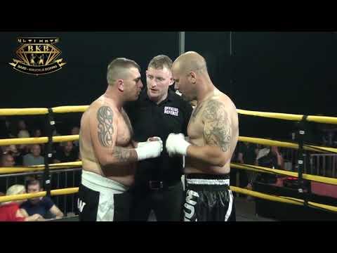James Walker vs Karl Hazman   Crusierweight Title Fight Harden   Ultimate Bare Knuckle Boxing   UBKB