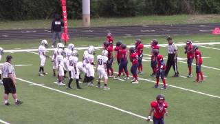 #56 Jayden Sakovich in his First 2015 Pop Warner Game for the Tri-State Raiders thumbnail
