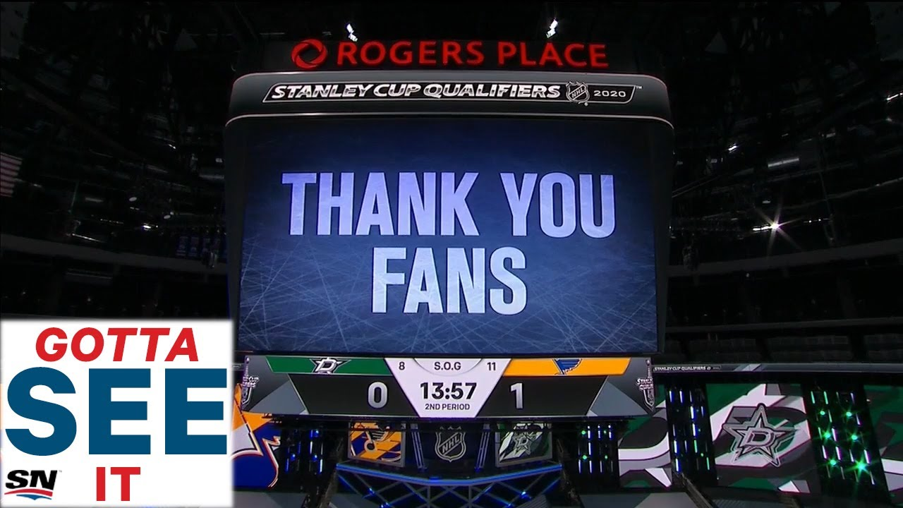 GOTTA SEE IT: NHL Thanks 'Fans' For All Their Support During Playoffs