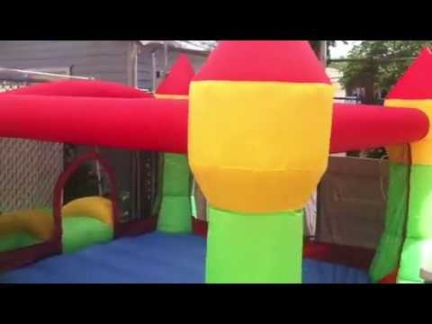 Bounceland hoop castle bounce house