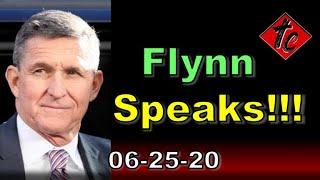Flynn Speaks!!!