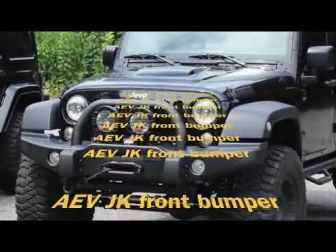 Lantsun® J063 AEV JK front bumper