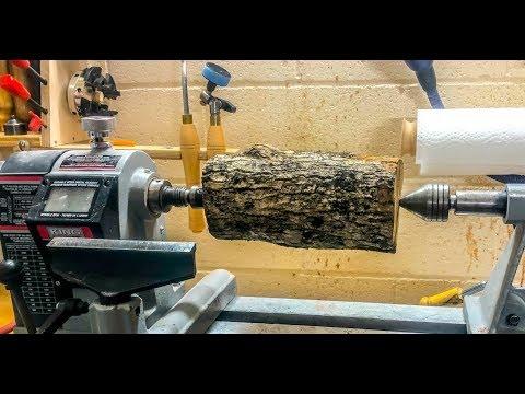 Woodturning - Log to vase