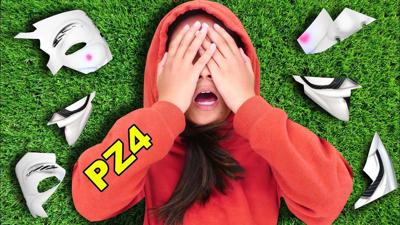 [VIDEO] - HACKER GIRL UNMASKED in NINJA BATTLE ROYALE (I Saw PZ4 Regina Face) 7