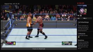 Livestream-African-American wrestling WWE 2K18