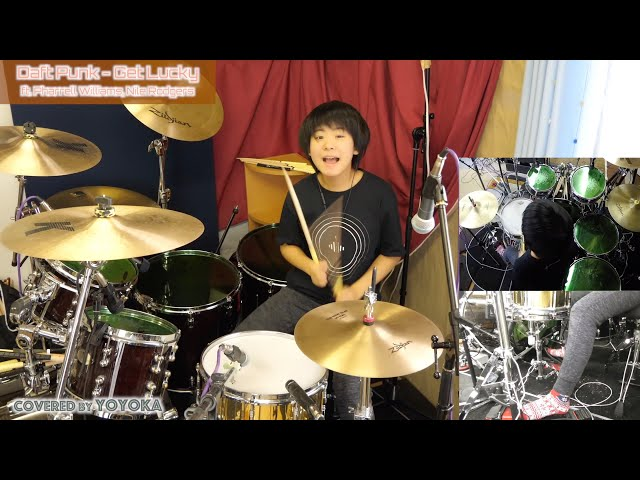 Daft Punk - Get Lucky (ft. Pharrell Williams, Nile Rodgers) / Covered by YOYOKA