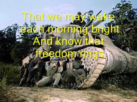 Thank You Soldiers - Veteran's Day Memorial Day Song.flv
