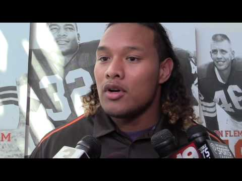 Cleveland Browns introduce nose tackle Danny Shelton