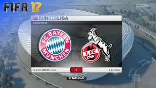 FIFA 17 - FC Bayern München vs. 1. FC Köln @ Allianz Arena