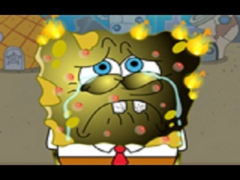 SpongeBob Burn Treatment— GAMES FOR KIDS