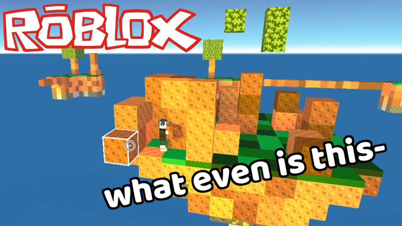 Using glitches to win skywars | Roblox Skywars