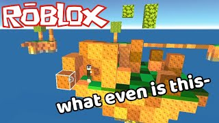 Using glitches to win skywars | Roblox Skywars YouTube Videos