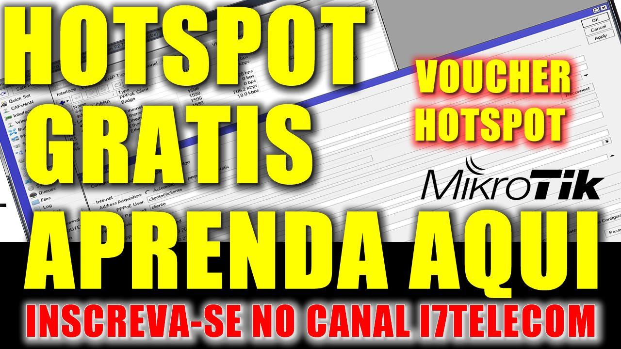 #CONFIGURANDO MIKROTIK PARA VOUCHER HOTSPOT