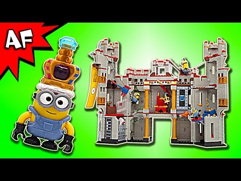 Mega Bloks Despicable Me CASTLE ADVENTURE Speed Review