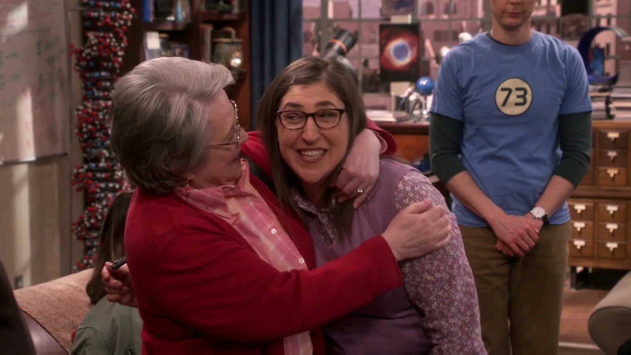 The Big Bang Theory Amy S Mom And Dad S11e24 Youtube
