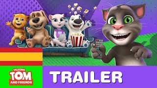 talking tom and friends la serie en espaol trailer de lanzamiento