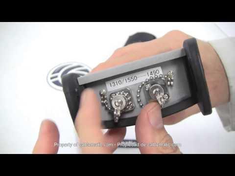 Generador De Luz Para Fibra Óptica 1310nm 1490nm 1550nm Distribuido Por Cablematic ® thumbnail
