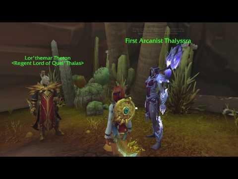 Thalyssra And Lor'themar Conversation