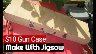 Make Easy Gun Case With Jig Saw For Rifle, Pistol, Shotgun