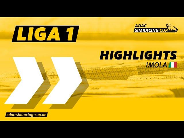 ADAC SimRacing Cup Highlights | Sommer Saison | Liga 1 | Imola