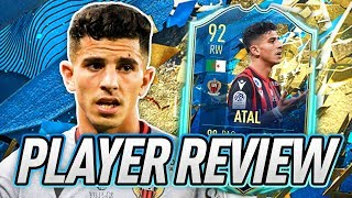 AUZIO: SO, WHERE DO YOU PLAY? ATAL: YES! 🤣 92 TOTSSF ATAL PLAYER REVIEW! - FIFA 20 Ultimate Team