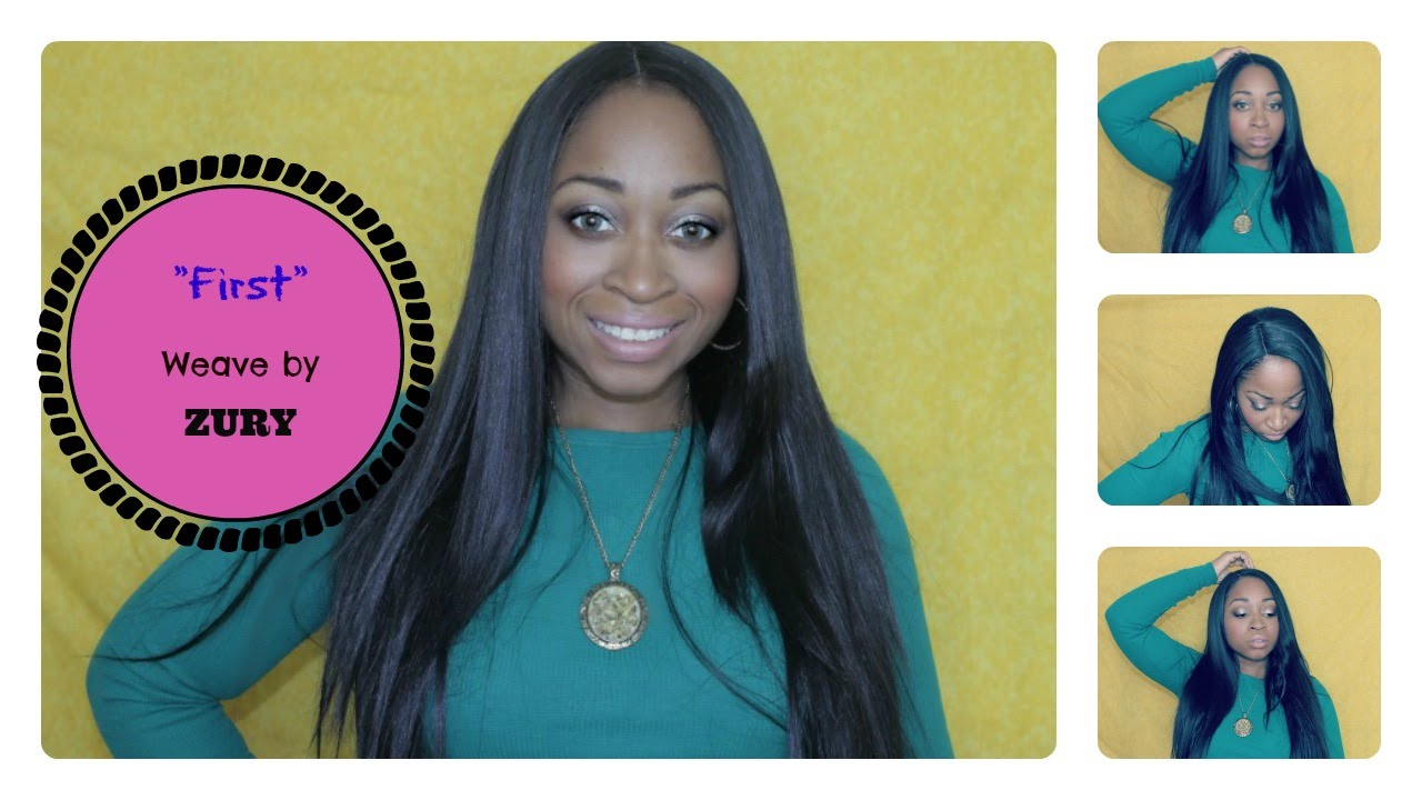 How To Sleek Straight Long Hair Silk Base Closure Under 20