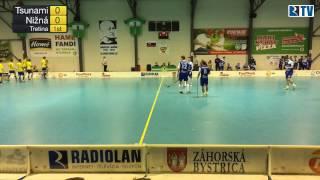 25. 3. 2017 1. zápas MEX semifinále play off Tsunami Záhorská Bystrica - TJ A - FbO Nižná