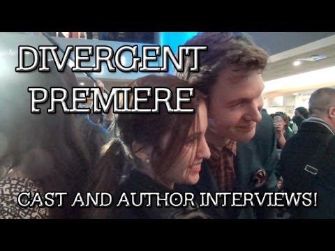 Chicago Divergent Premiere: Cast and Author Interviews
