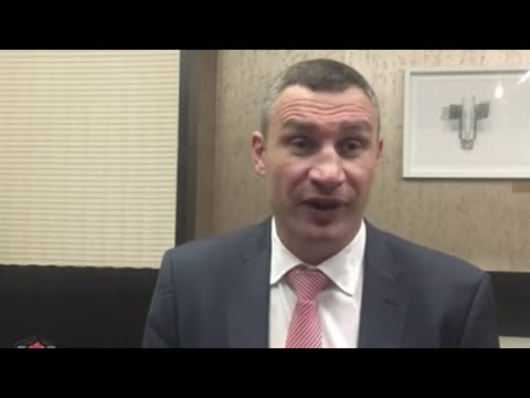 """VITALI KLITSCHKO COMING OUT OF RETIREMENT: """"I HAVE TO FIGHT ANTHONY JOSHUA...."""""""