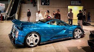 The INSANE $1.6 Million Body Kitted Pagani Zonda | Tokyo Auto Salon