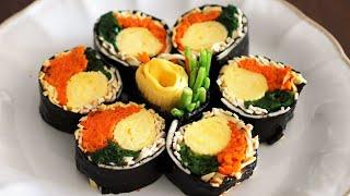 단백질 듬뿍 키토김밥 만들기! 다이어트 식단에 좋은 두…