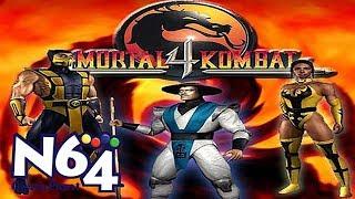 Mortal Kombat 4 - Nintendo 64 Review - HD
