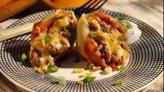 "Now You're Cook""in T.v: Mexican Stuffed Pasta Shells /manicotti"