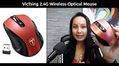 VicTsing Bluetooth 4 0 Mouse 2 4G Wireless Portable Mobile