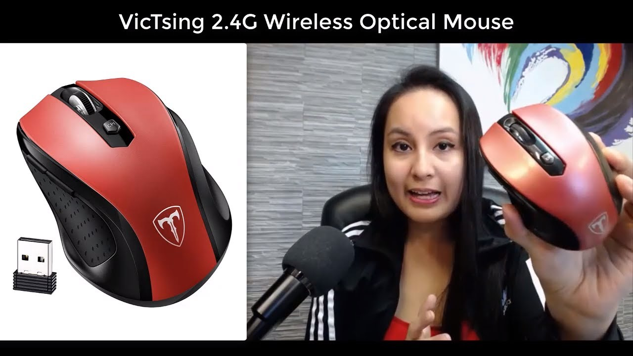 VicTsing Upgrade 2 4G Wireless Mouse Review // Features + What I Like &  Don't Like