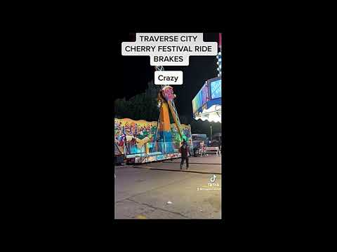 TRAVERSE CITY CHERRY FESTIVAL RIDE FAILURE