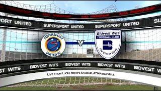 Absa Premiership 2017/2018 - SuperSport United vs Bidvest Wits