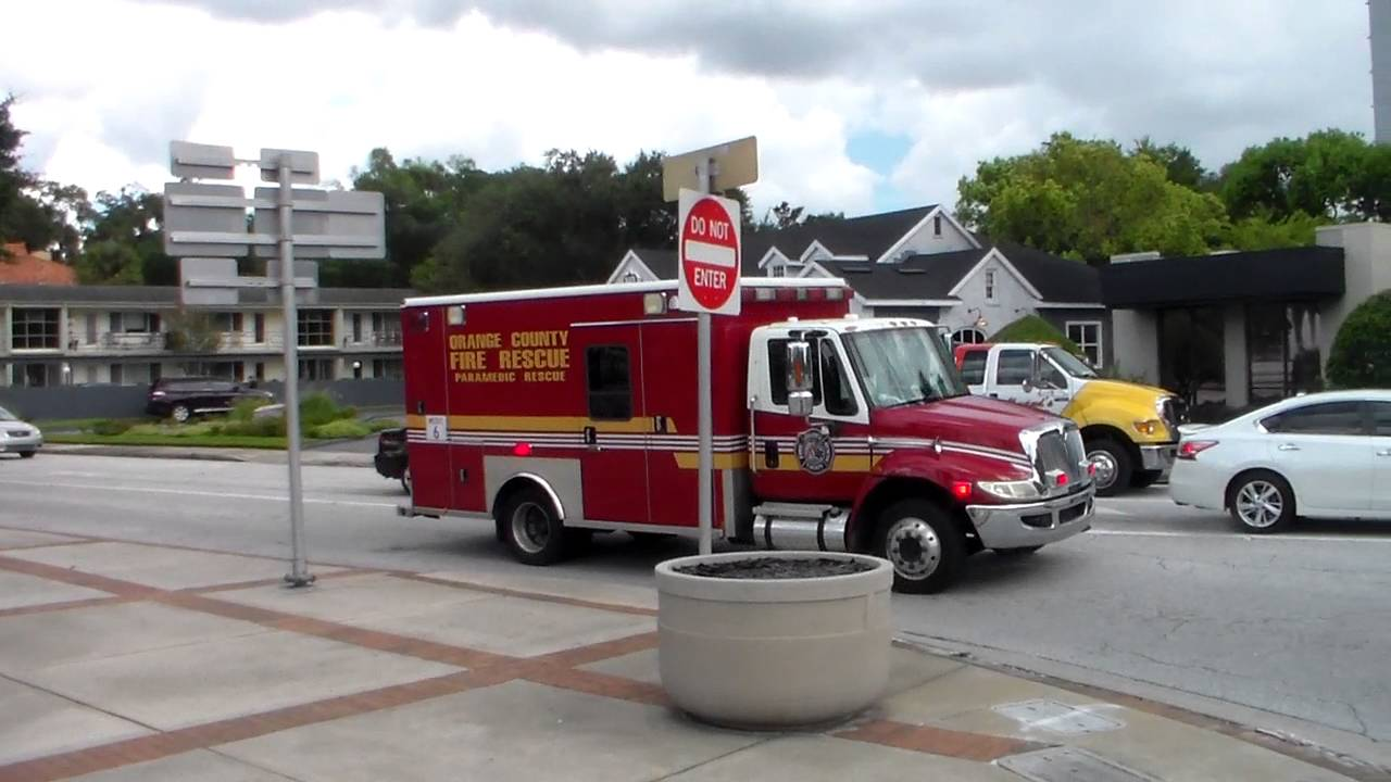 Orange County Fire Rescue Medic 6 Spare Emergency