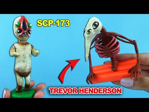 Скульптура SCP 173, Бог Дорожных Убийств | Лепим Творения Тревора Хендерсона и СЦП объект