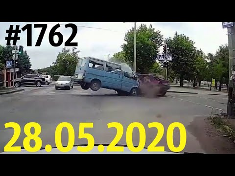 Новая подборка ДТП и аварий от канала «Дорожные войны!» за 28.05.2020. Видео № 1762.