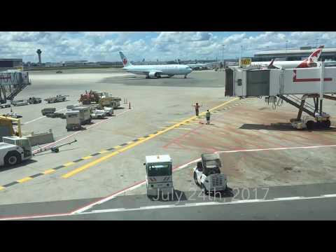 Full Flight: Air Canada Boeing 767-300ER from Toronto (YYZ) to New York (LGA)  *RARE*