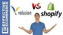 Volusion Vs Shopify Pros and Cons Review Comparison
