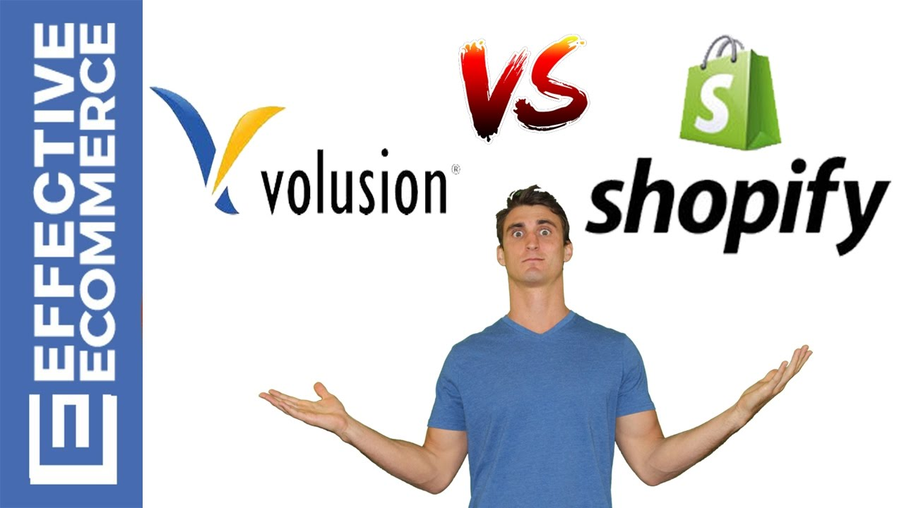 Volusion Vs Shopify Pros and Cons Review Comparison - YouTube
