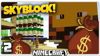 Minecraft | THE MOST EXPENSIVE BLAZE IN THE WORLD | Skyblock Survival [2]