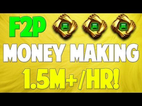 Runescape 2016 | F2P Money Making Guide