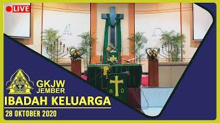 Menggengam dan melepas - Ibadah Keluarga, 28 Oktober 2020