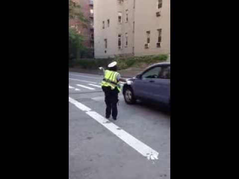 HAPPIEST TRAFFIC AGENT NYC
