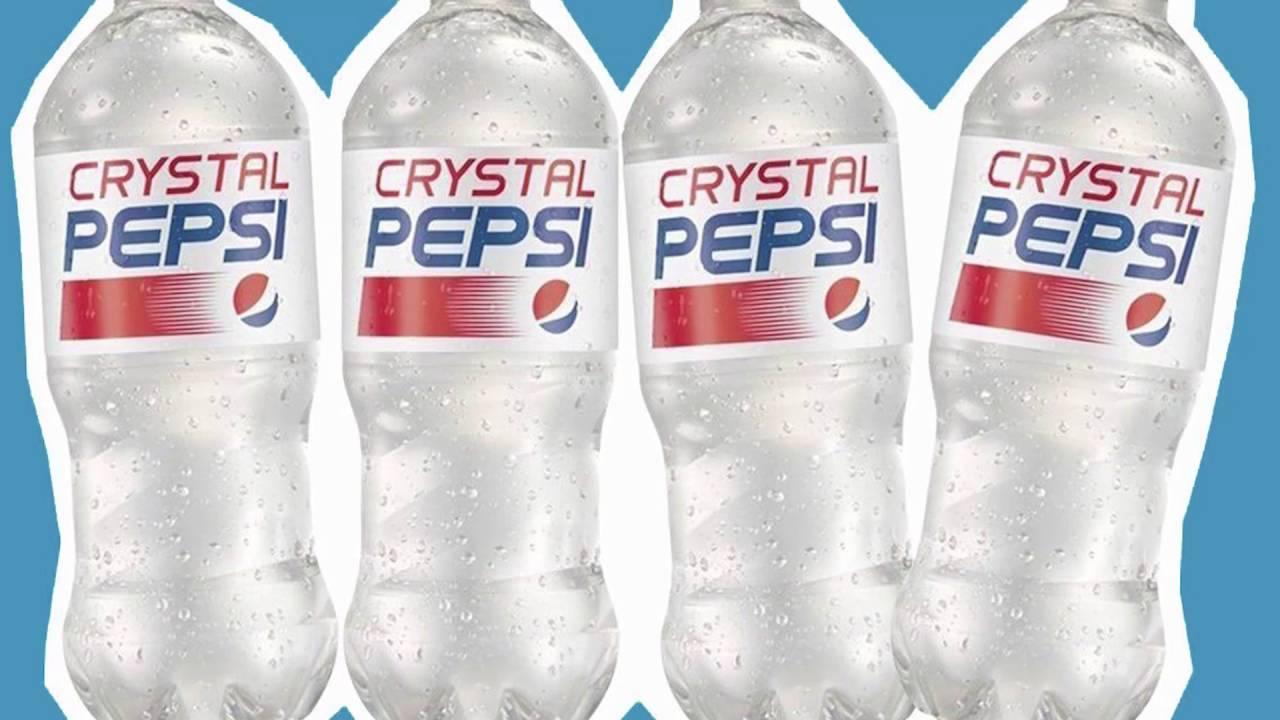 crystal pepsi history