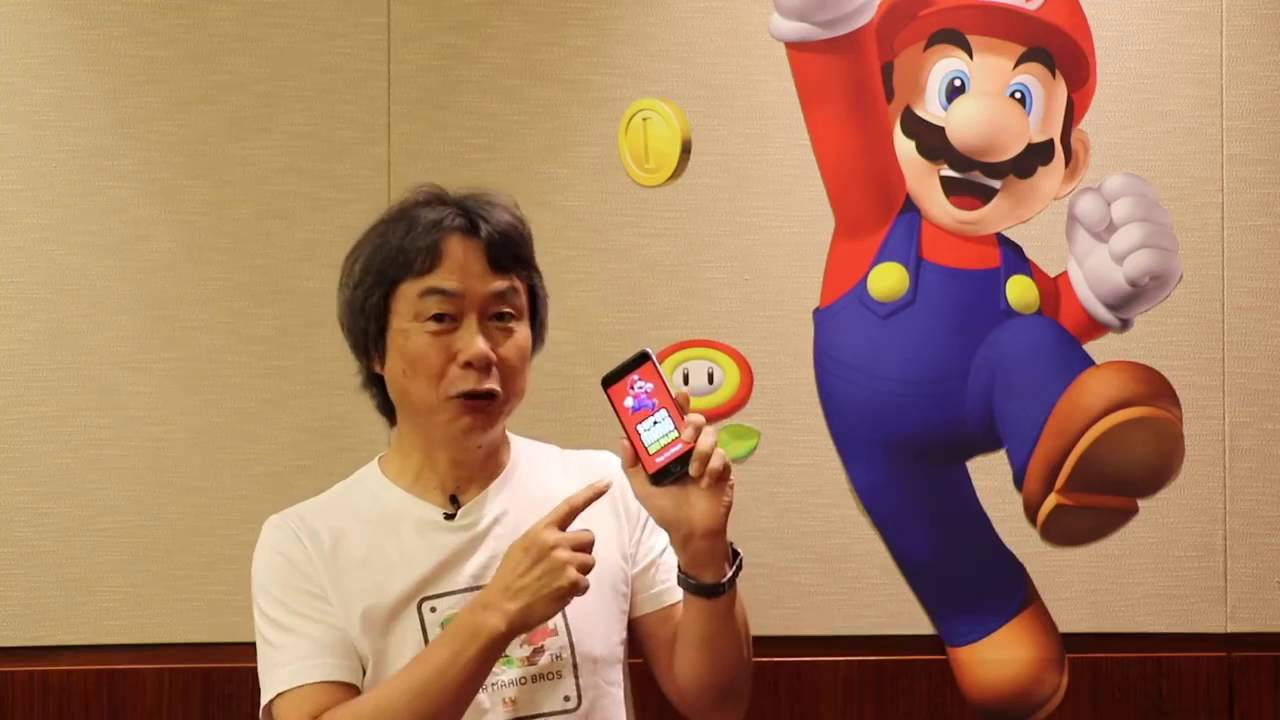 Super Mario Run por Shigeru Miyamoto - YouTube